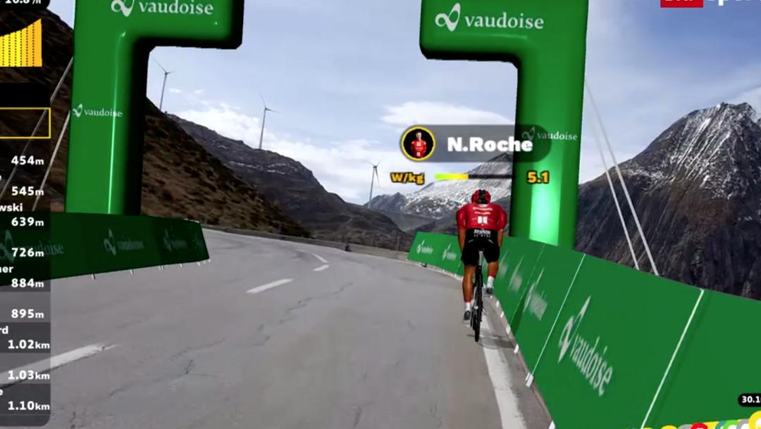 Erfolgreiche Weltpremiere der ersten digitalen Pro-Cycling Rennserie