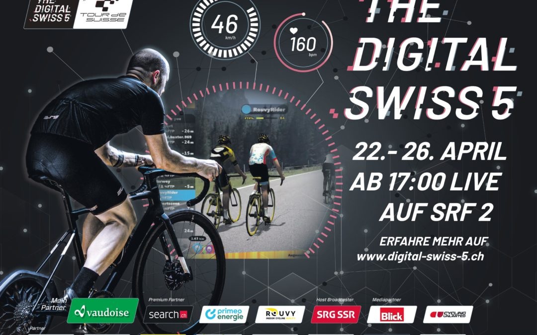 The Digital Swiss 5 wins the Digital Communication Award 2020
